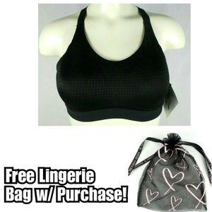 Victoria's Secret Lightweight Sports Bra Black 32C